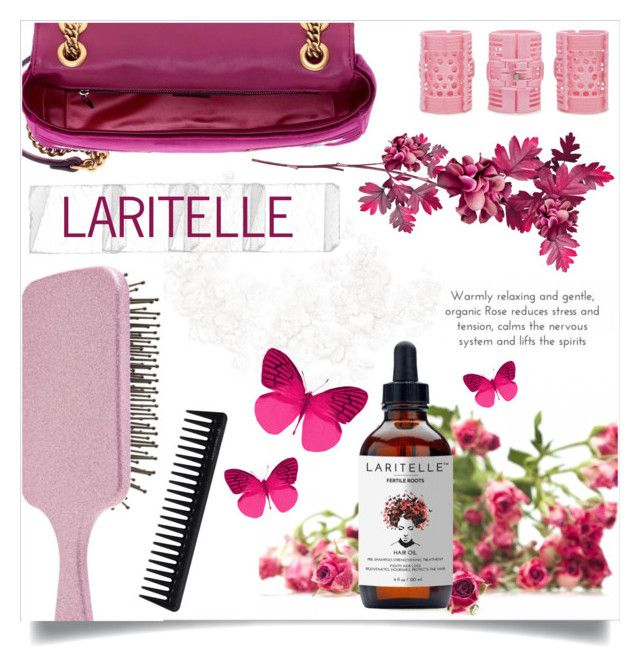 """""""Feel beautiful with Laritelle"""" by laritelle ❤ liked on Polyvore featuring beauty, Gucci, Forever 21 and GHD"""