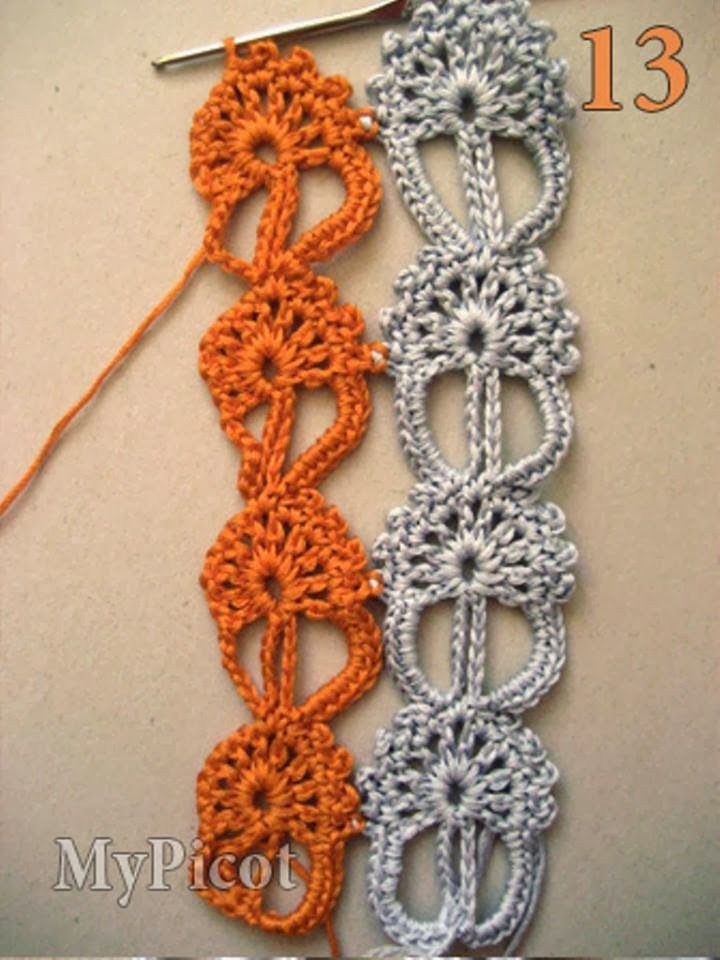 Crochet Patterns to Try: Crochet Motifs Patterns to Combine However ...