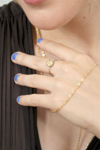 Gold and silver ring | CATHERINE MASI