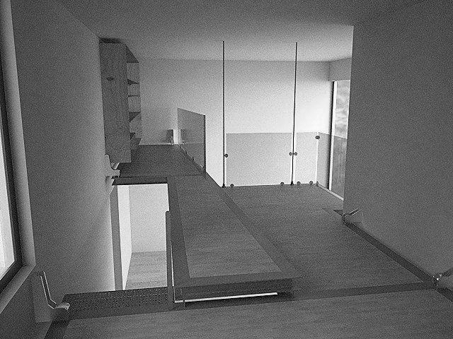 Soppalco sospeso Scale, Terrazzo