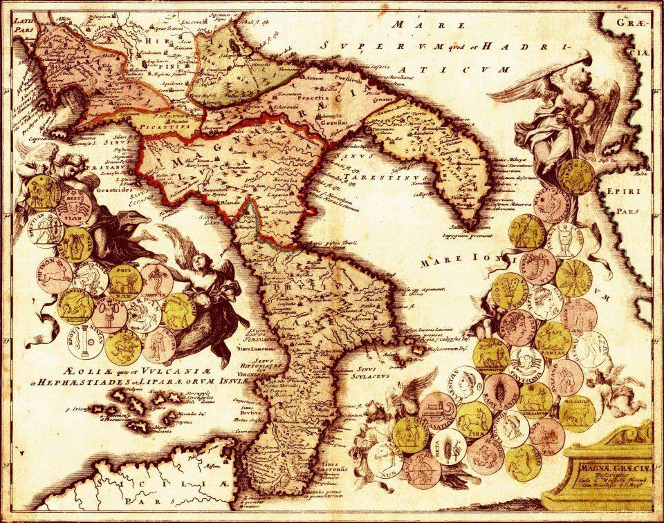 Cartina Calabria Immagini.25 Idee Su Calabria Antica Calabria Carte Geografiche Geografia