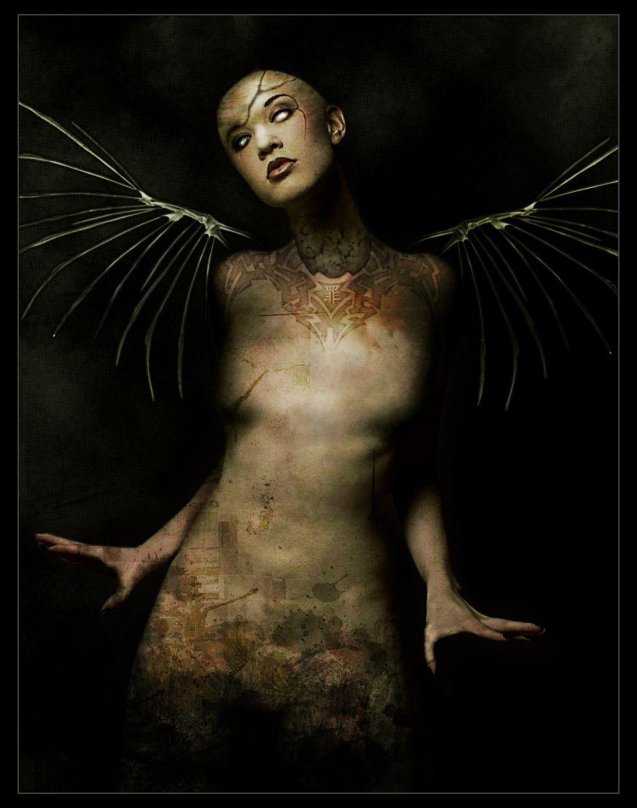 Real Succubus   Digital Art / Photomanipulation / Macabre
