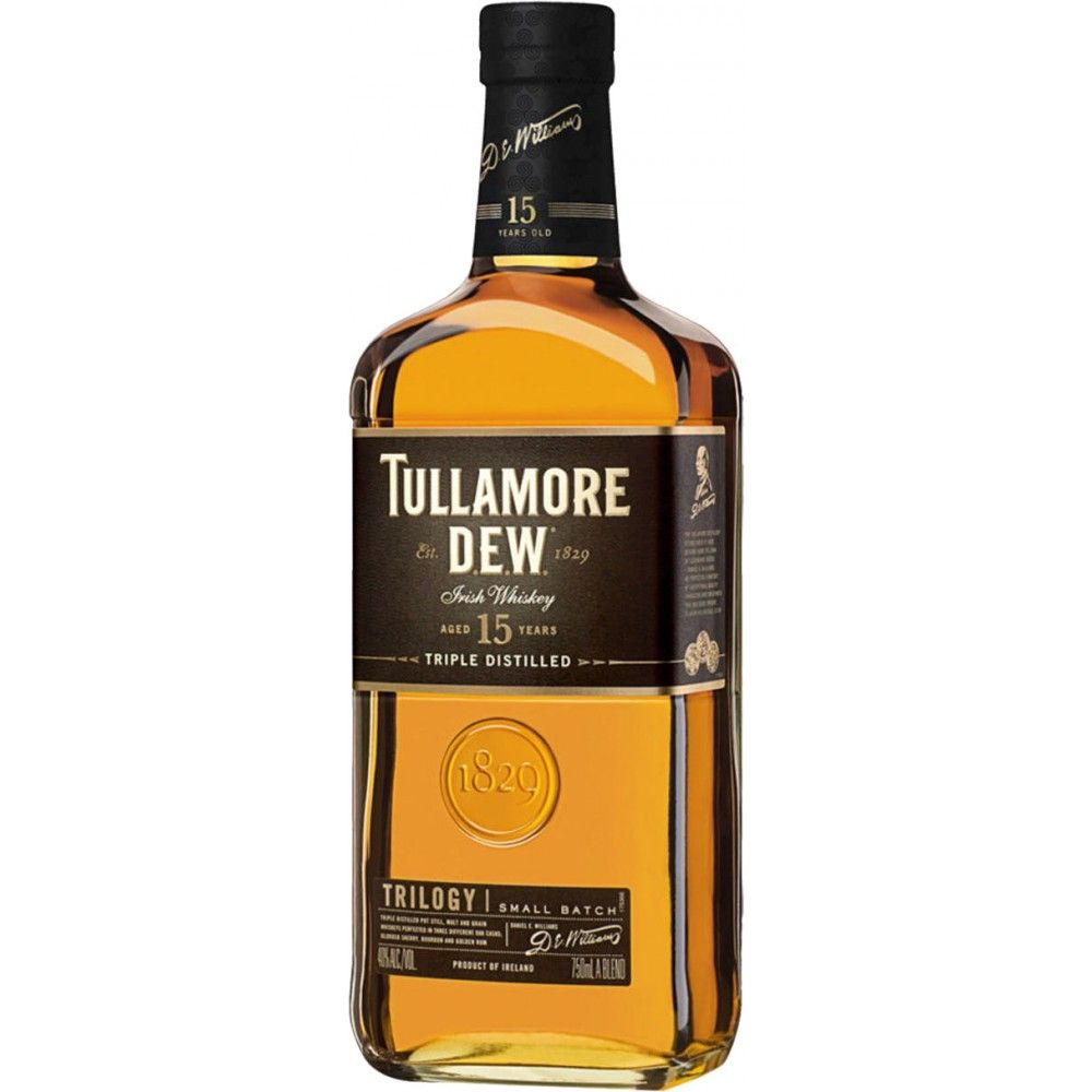 Caskers Selection Tullamore Dew 15 Year Old Trilogy Small Batch Irish Whiskey Irish Whiskey Whiskey Whiskey Brands