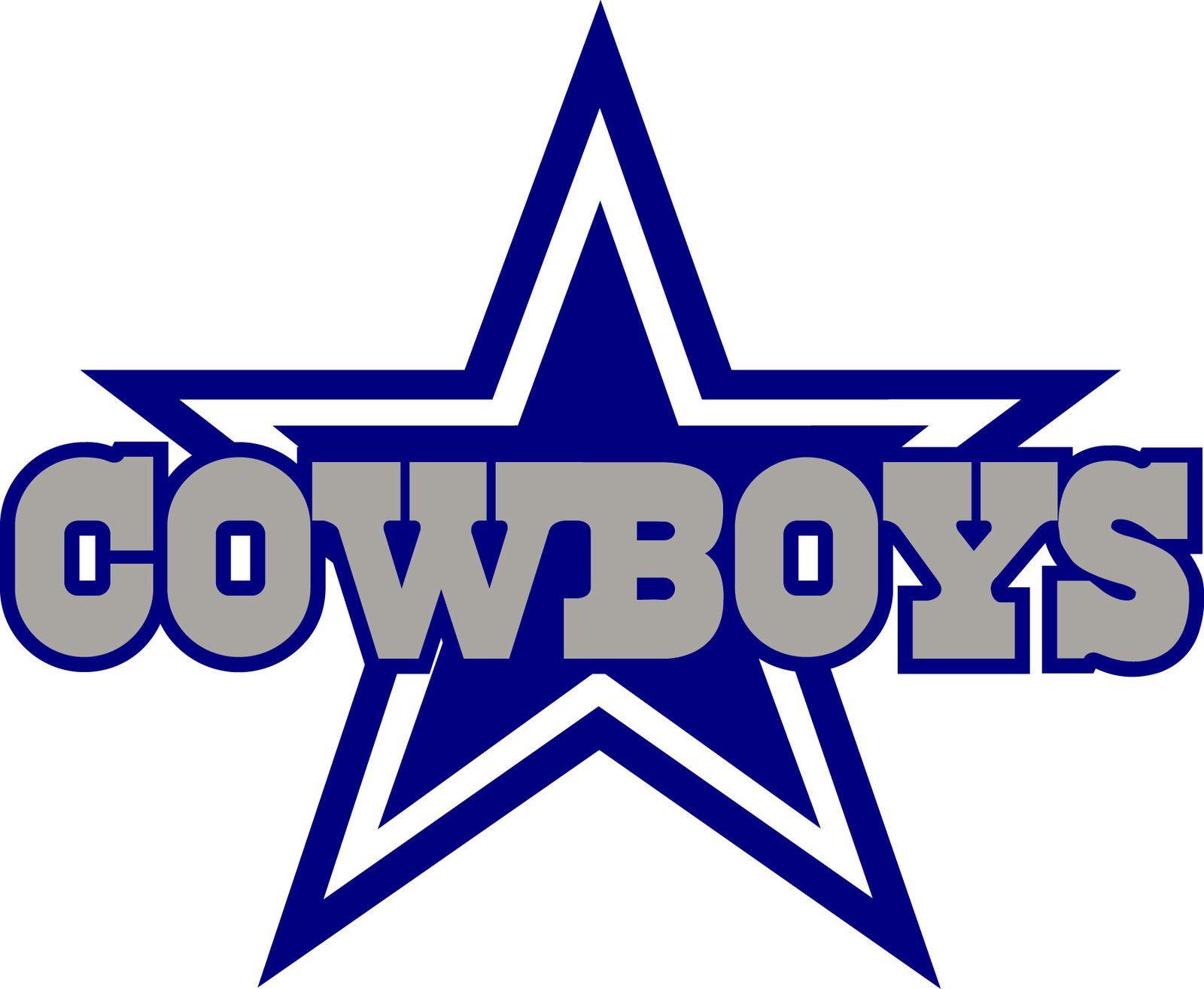 DALLAS COWBOYS STAR Logo * Window Wall STICKER * Vinyl Car DECAL ...