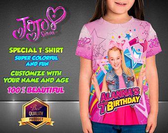 JOJO SIWA Birthday Shirt Custom Personalized Jojo Siwa Family Shirts T Disney