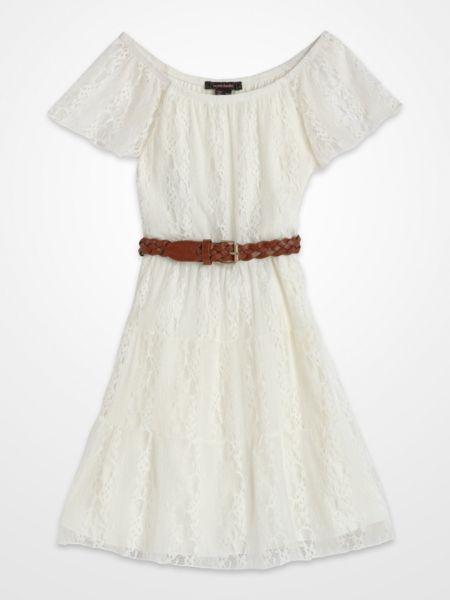 c1fb330bd Girls Ivory Lace Dress  kids  summer  white