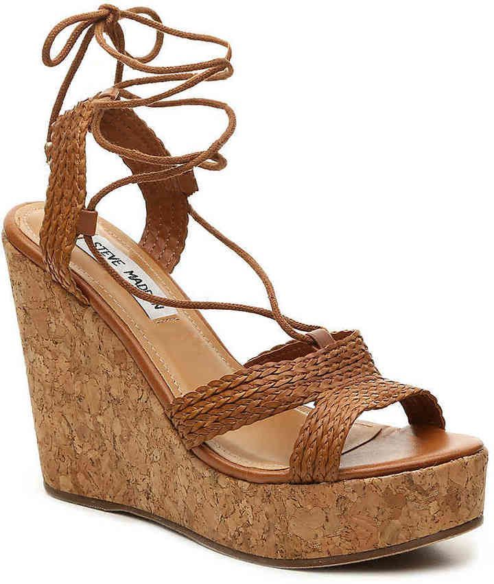 591e7f699e67 Steve Madden Women s Wynwood Wedge Sandal Wedge Sandals