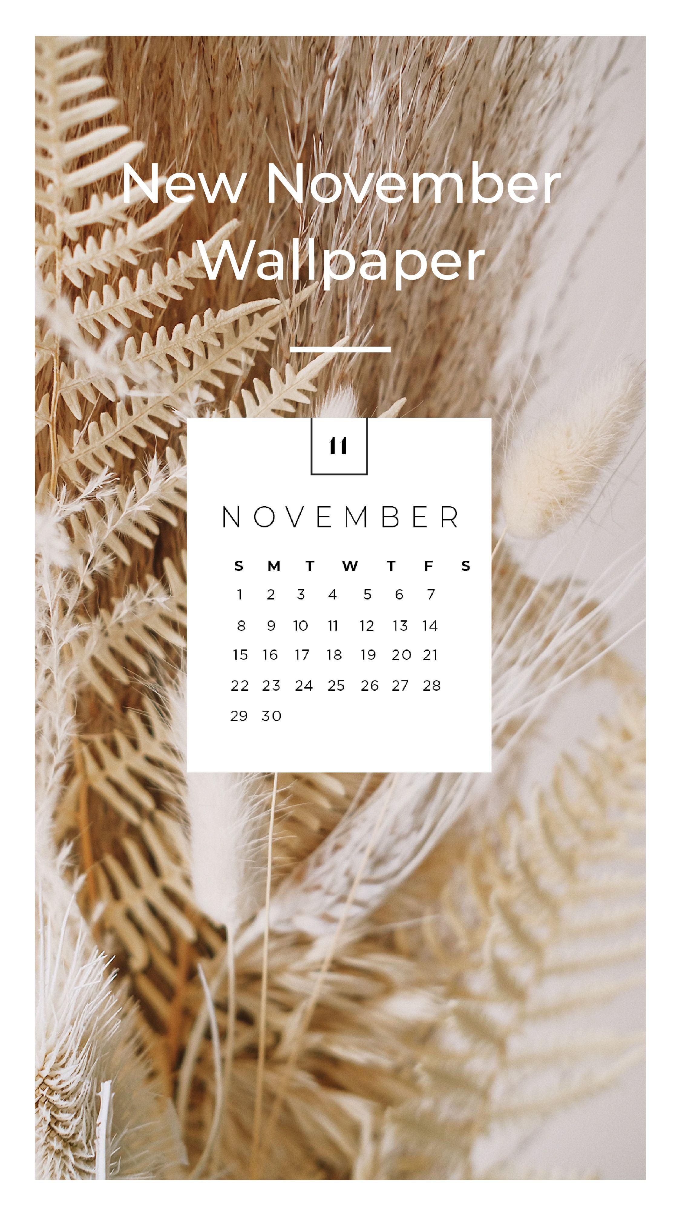 November Desktop & Mobile Wallpaper   sonrisastudio.com   Mobile ...