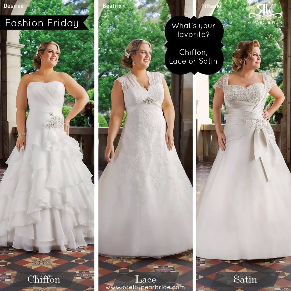 Fashion friday which is your favorite wedding dress fabric roz