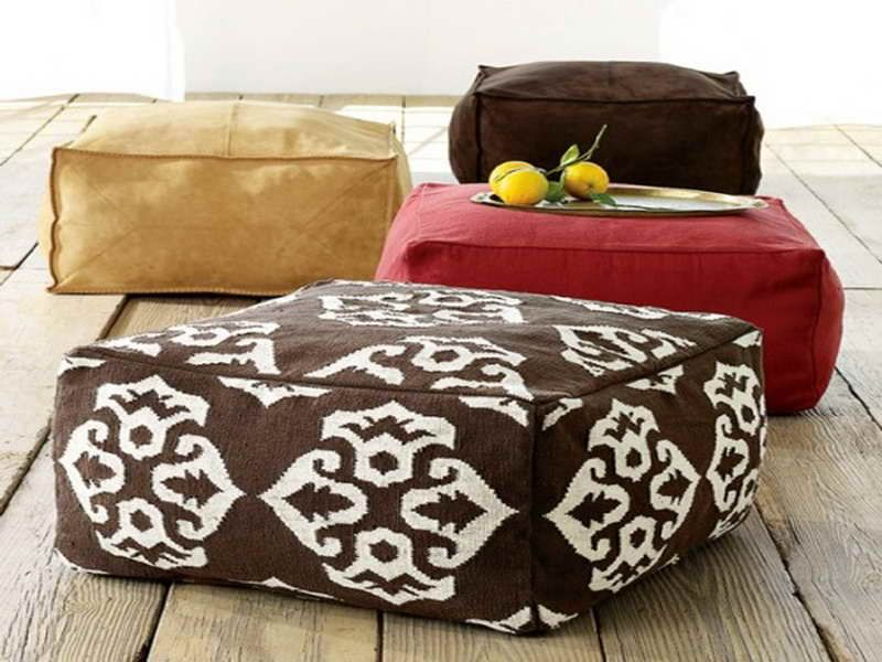 Cojines Floor Pillows by Kennedy Home Design | DIY projects ...