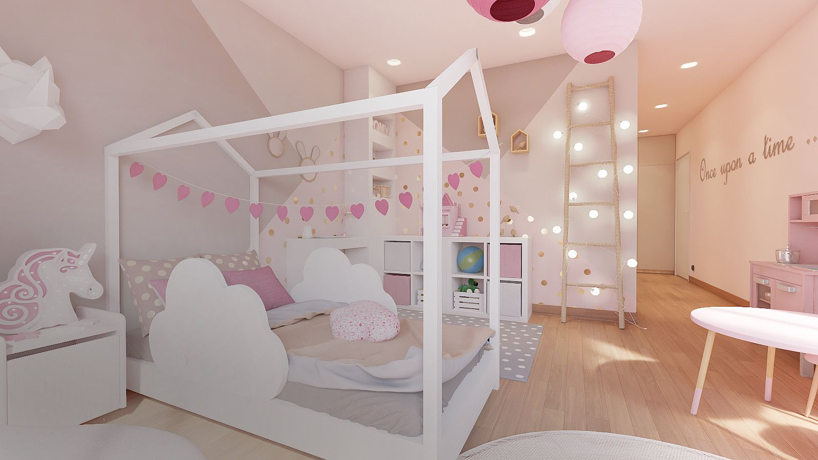 Chambre petite fille  Chambre enfant, Décoration intérieure, Deco