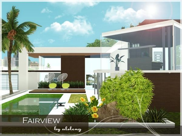 Fairview house by Aloleng - Sims 3 Downloads CC Caboodle | The Sims ...