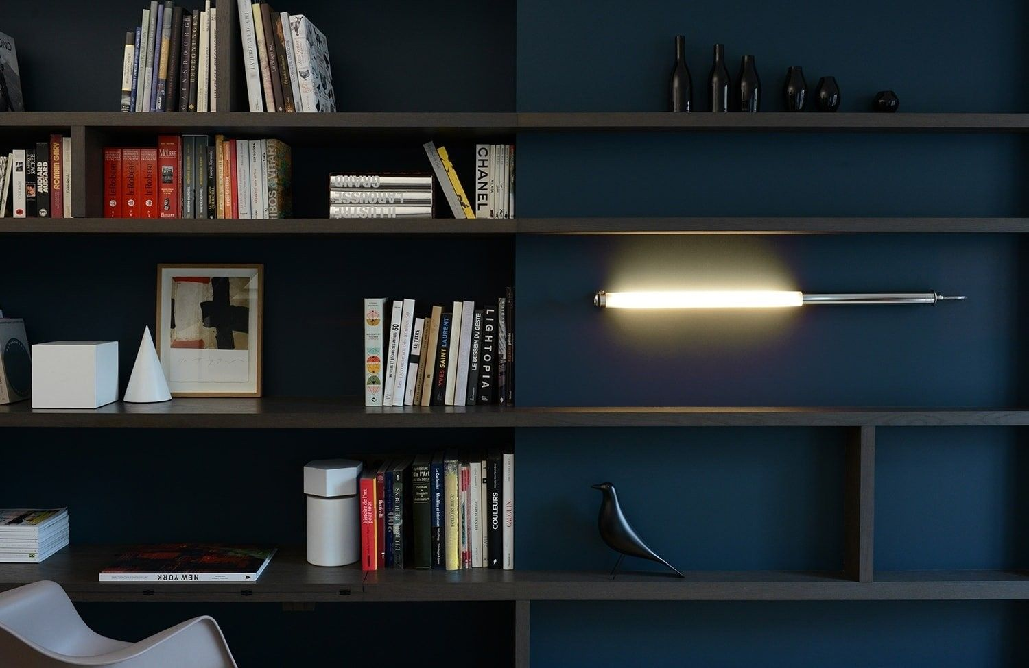 Applique led mondrian design sammode argenté 计划计划