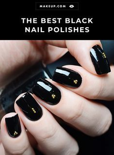 The Best Black Nail Polishes
