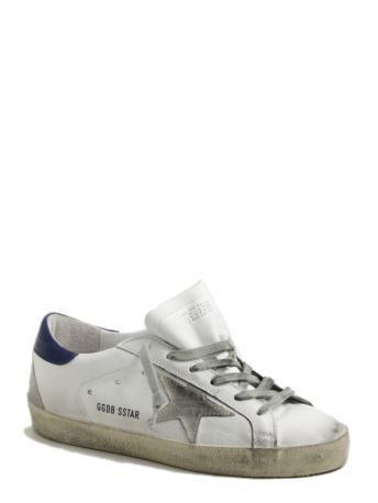 Golden Goose-sneakers superstar white bluette cream sole-Golden Goose shop online