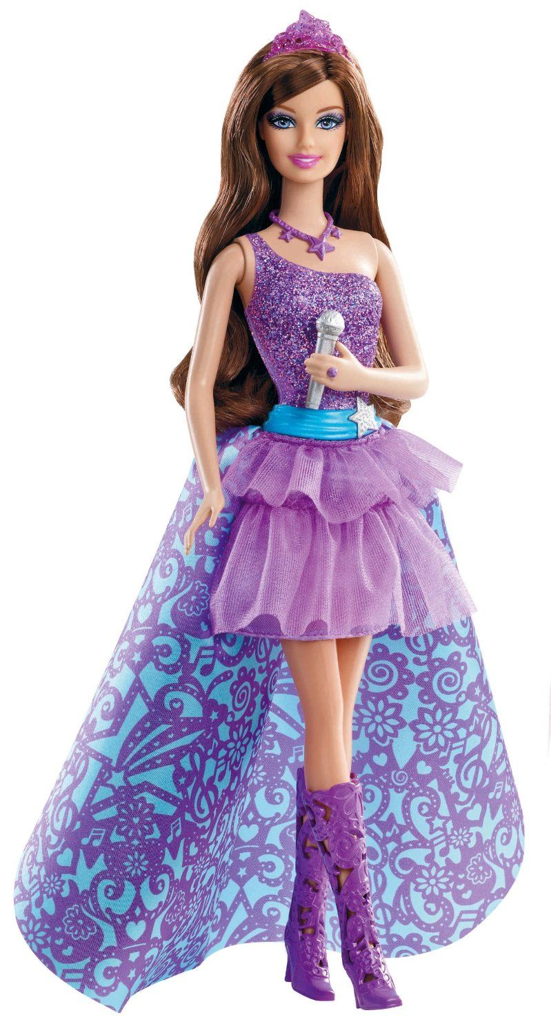 Fashion Doll Barbie The Princess And Popstar Keira Click Image For More Details