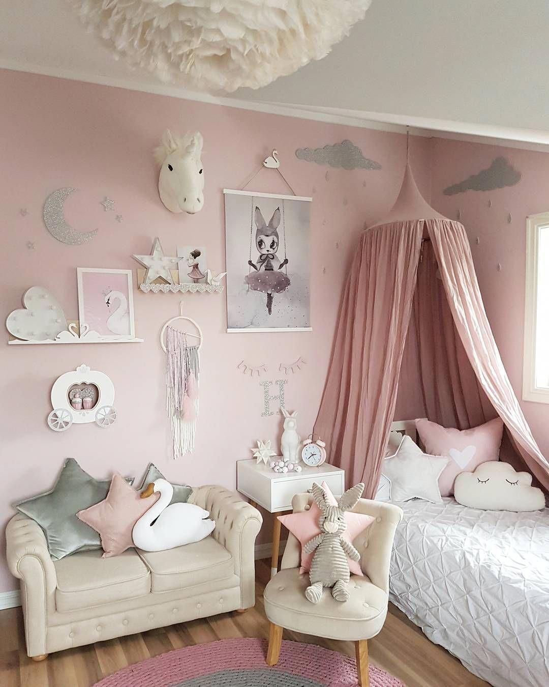 15 tips to give style to a small room  Deco chambre fillette