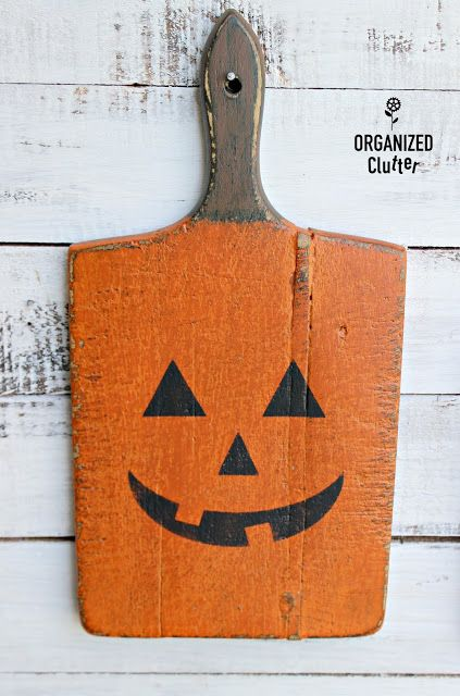 From Garage Sale Cutting Boards to DIY Halloween Decor in 2018