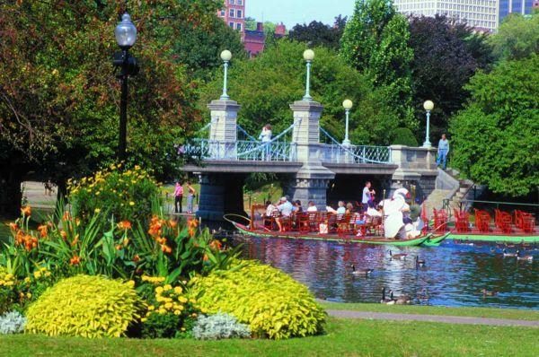 Boston Uncommon A Fresh Look Boston Public Garden