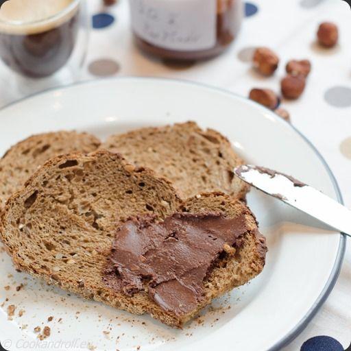 P te tartiner au chocolat et noisettes bio et torr fi es maison une tuerie pour la - Pate a tartiner maison bio ...