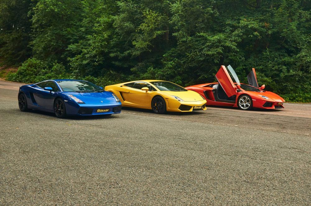 Lamborghinis Ready To Take To The Track Supercar Driving Experience Super Cars Driving Experience