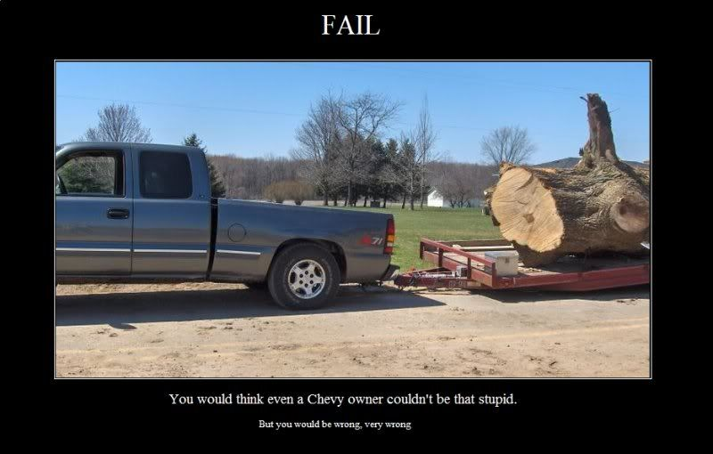 chevy fails | 16/2010 8:01:53 PM Ford vs. Chevy vs. Dodge??? | Places to Visit | Pinterest ...