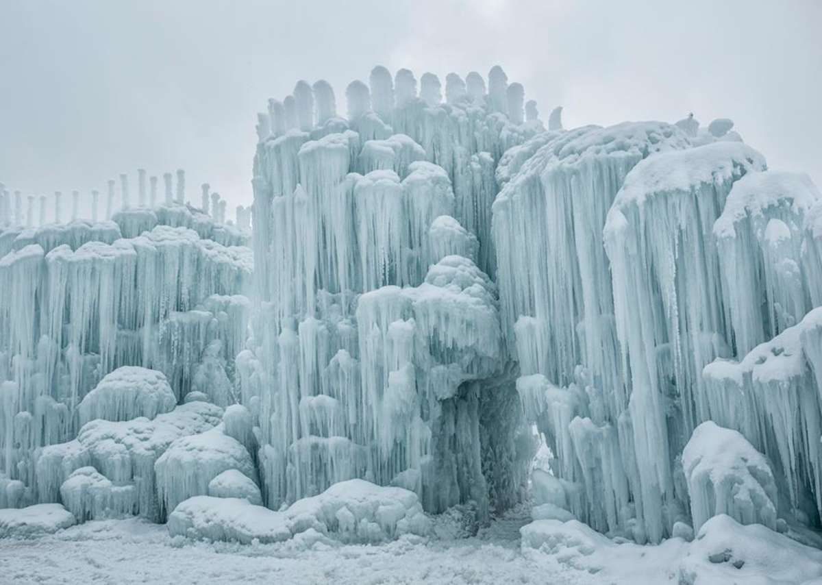 photo of midway ice