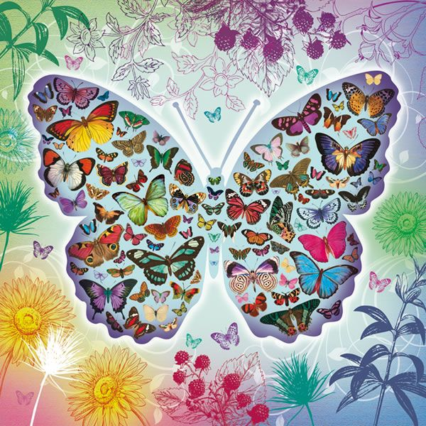 piece butterfly puzzle Otterhouse Jigsaw Puzzles Butterfly