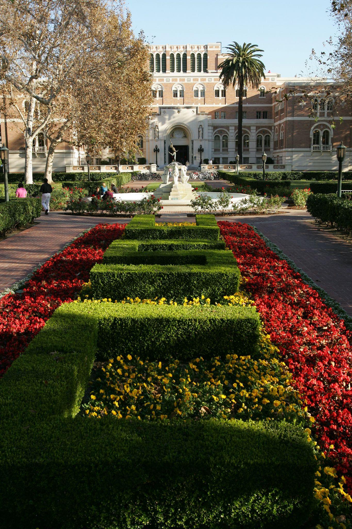Alumni Park University of southern california, Social