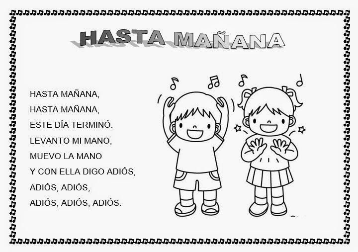 20 Ideas De Canciones Saludo Canciones Canciones De Niños Canciones Infantiles
