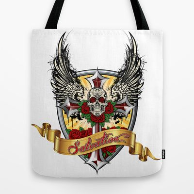 #ART IS #SALVATION - Tote Bag by Angel Torres - $22 @society6