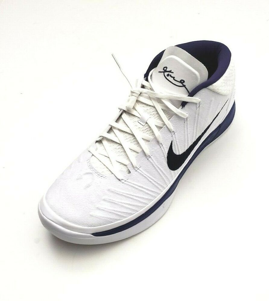 2324499d3235 Nike Men s 942521-107 Kobe A.D. TB PE Mid Basketball Shoes White Purple Size