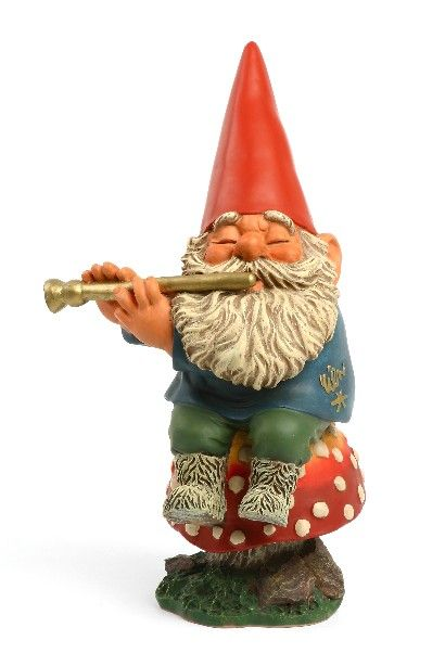 Gnome Playing Flute Gnome Garden Gnomes Funny Garden Gnomes