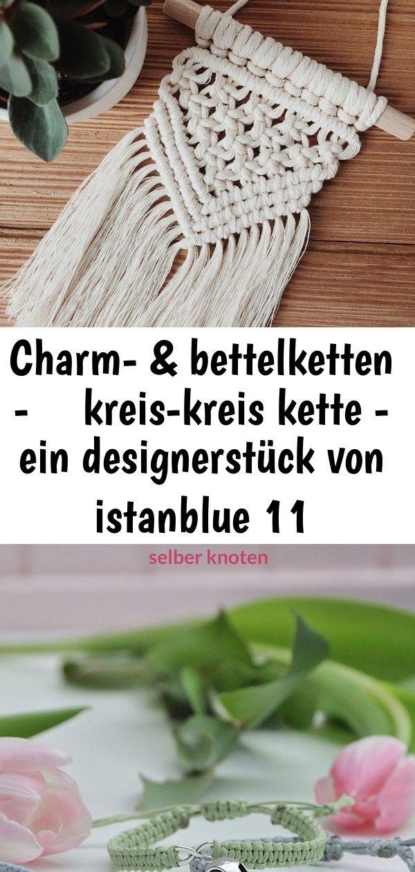 Charm- & bettelketten - ♥ kreis-kreis kette - ein designerstück von istanblue 11 #wanddekoselbermachen