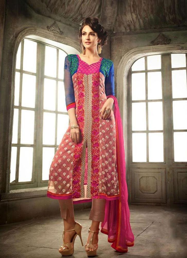 Pakistani Bollywood New Designer Salwar Dress Suit Kameez Ethnic Anarkali Indian #KriyaCreation #Designer