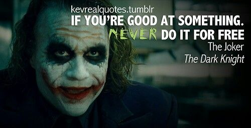 Joker Quotethe Dark Knight The Joker Batman Dark Knight Dark