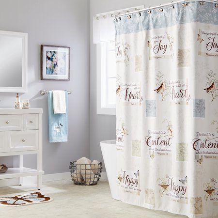 Home In 2020 Fabric Shower Curtains Shower Curtains Walmart