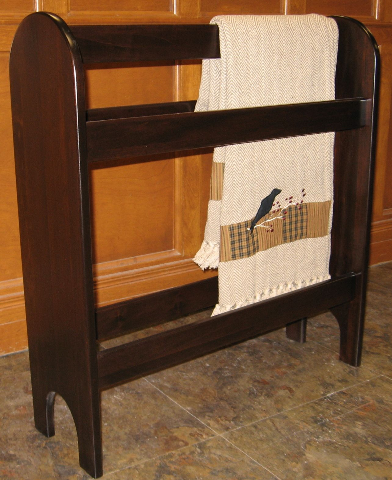 rack mahogany towel holders nextag proman level at master racks walmart products compare finish prices shopping quilt