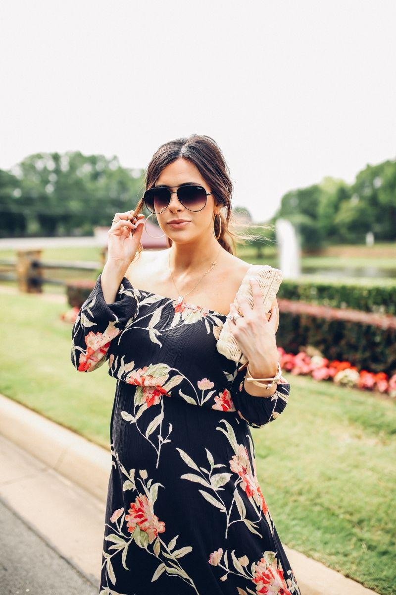 better best service huge sale Maxi Dress + Messy Hair | Fashion Looks || Emily Gemma ...