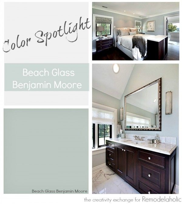 color spotlight: benjamin moore beach glass | benjamin moore