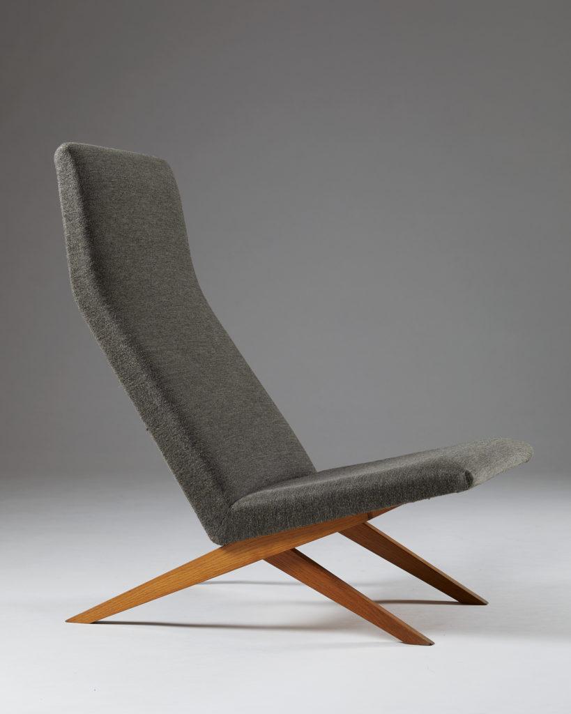 Easy Chair Designed By Bodil Kjaer For Harbo Solvsten Denmark