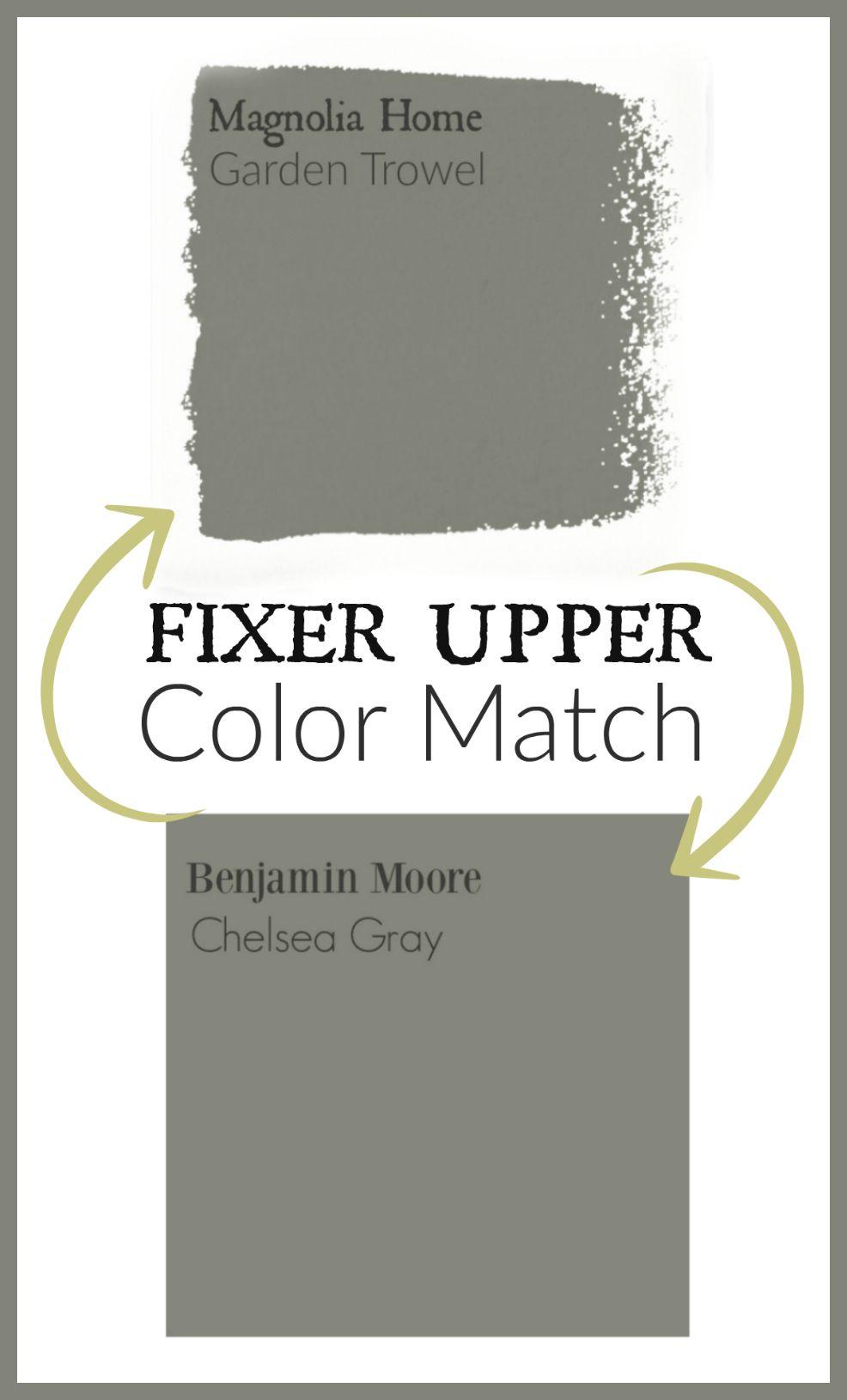 Fixer Upper Paint Colors Magnolia Home