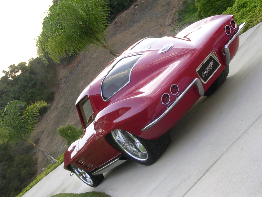 1963 Twin Turbo Corvette | Boyd Coddington Hot Rods | Corvette