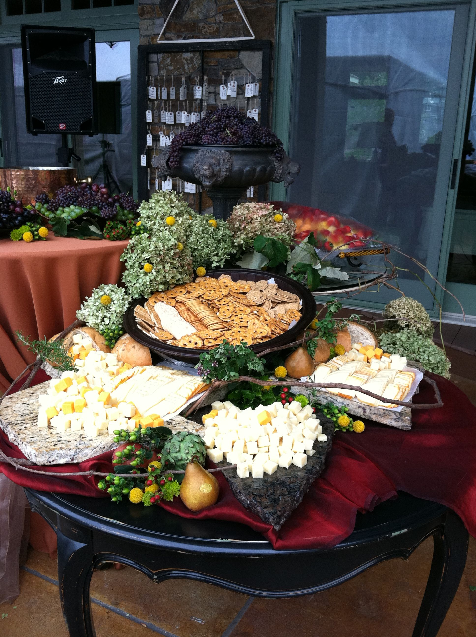 Fall Appetizer Table Foodies Fun Pinterest