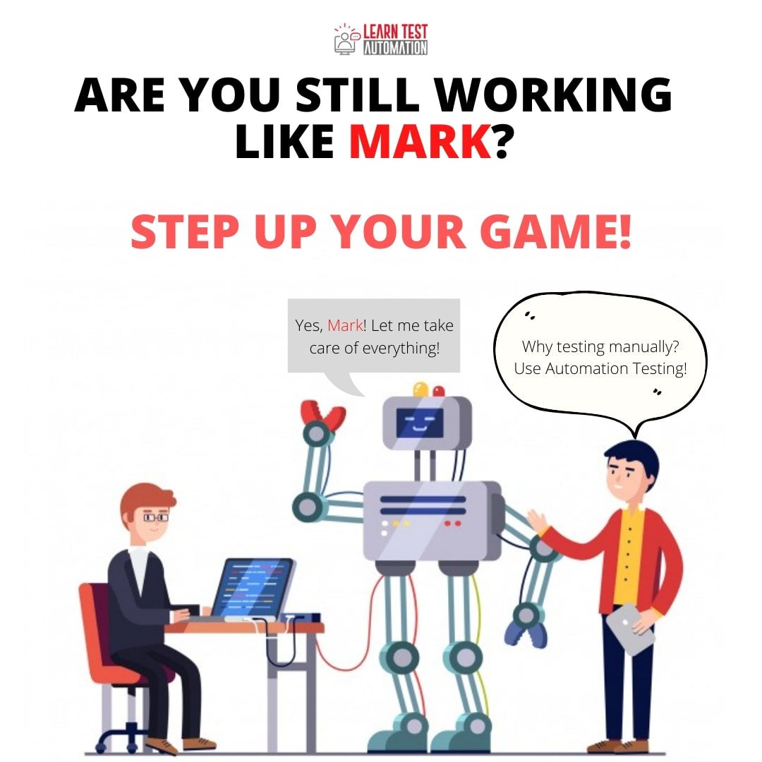 Are you still working like mark step up your game in