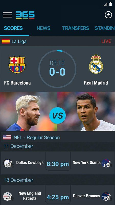 365scores Sports Scores Live Full Apk Free Download Sports