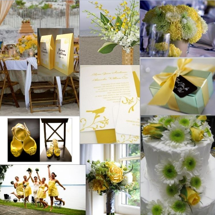 Yellow Wedding Idea