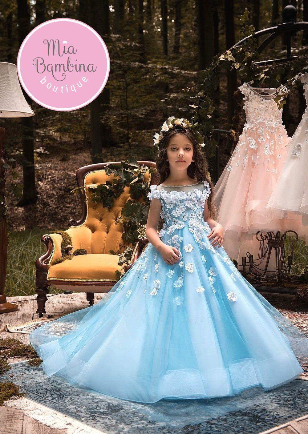 Flower Girl Dresses Marbella Vestidos modernos para