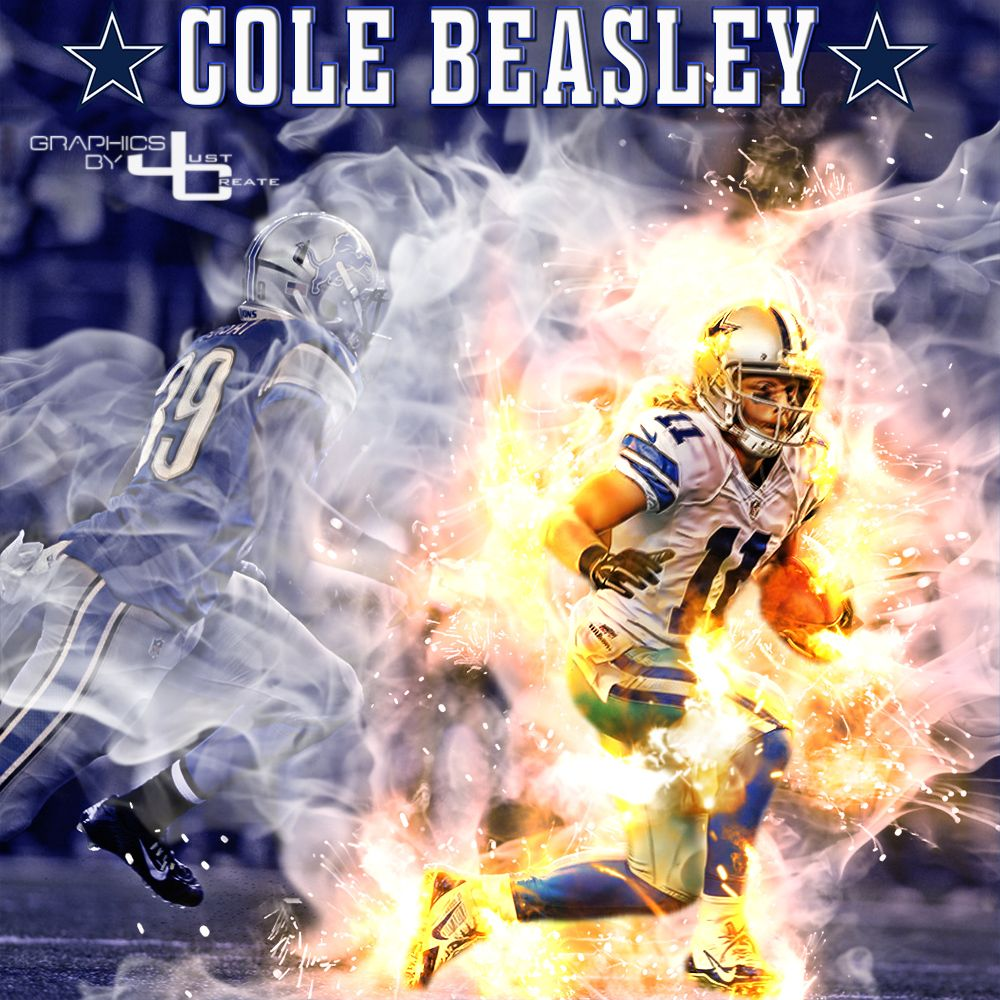 Cole Beasley graphics by justcreate Sports Edits Dallas