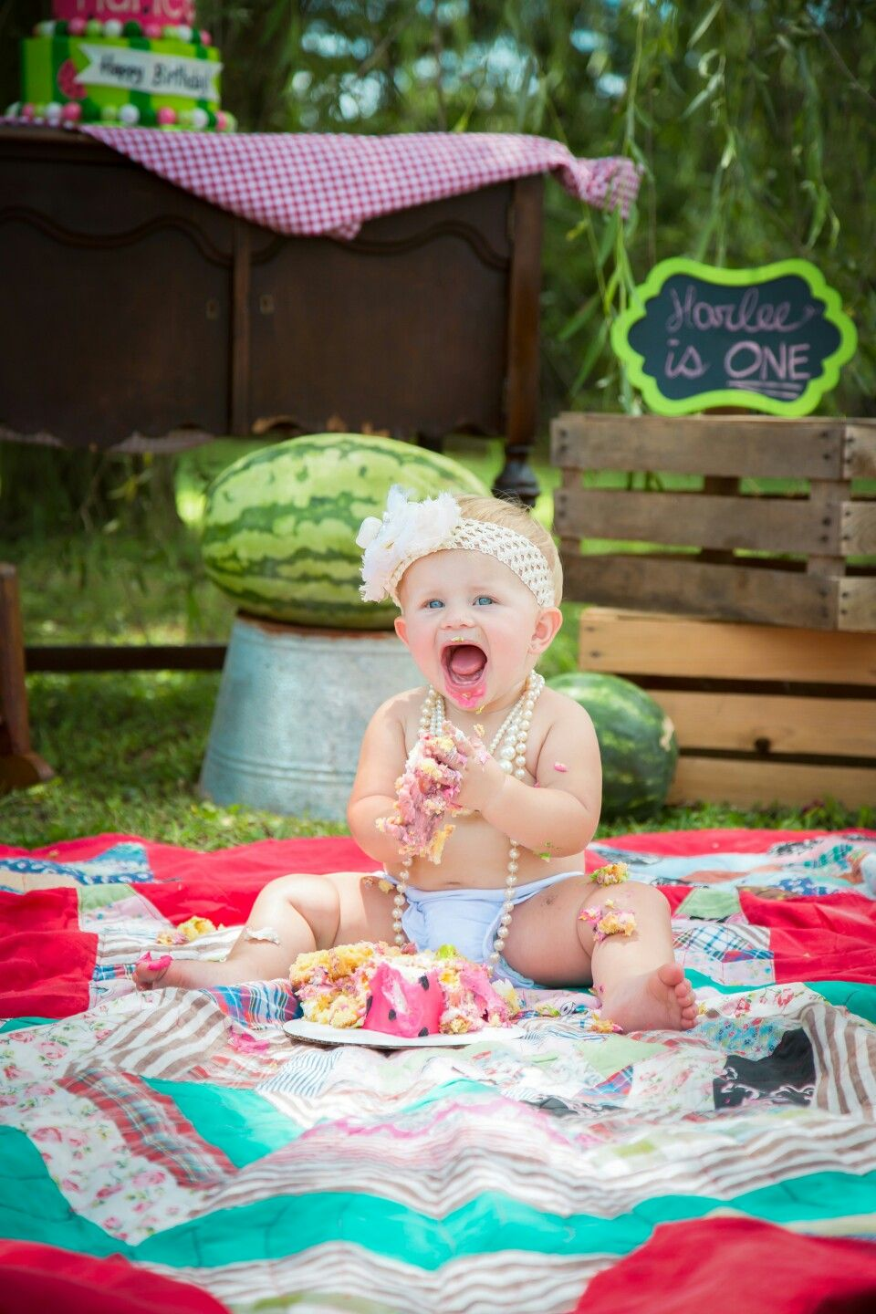 Pin by Cortney Johns on Harlee's First Birthday Photoshoot